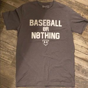Men's Baseball Under Armour tshirt